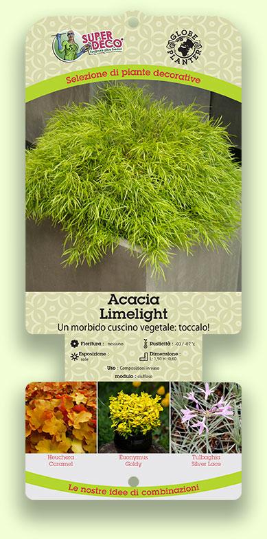 Etichetta Globe Planter